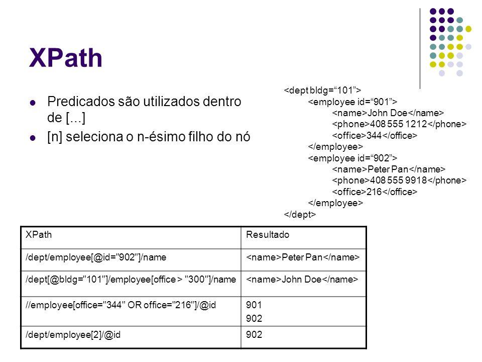XPath.representa o nó atual..