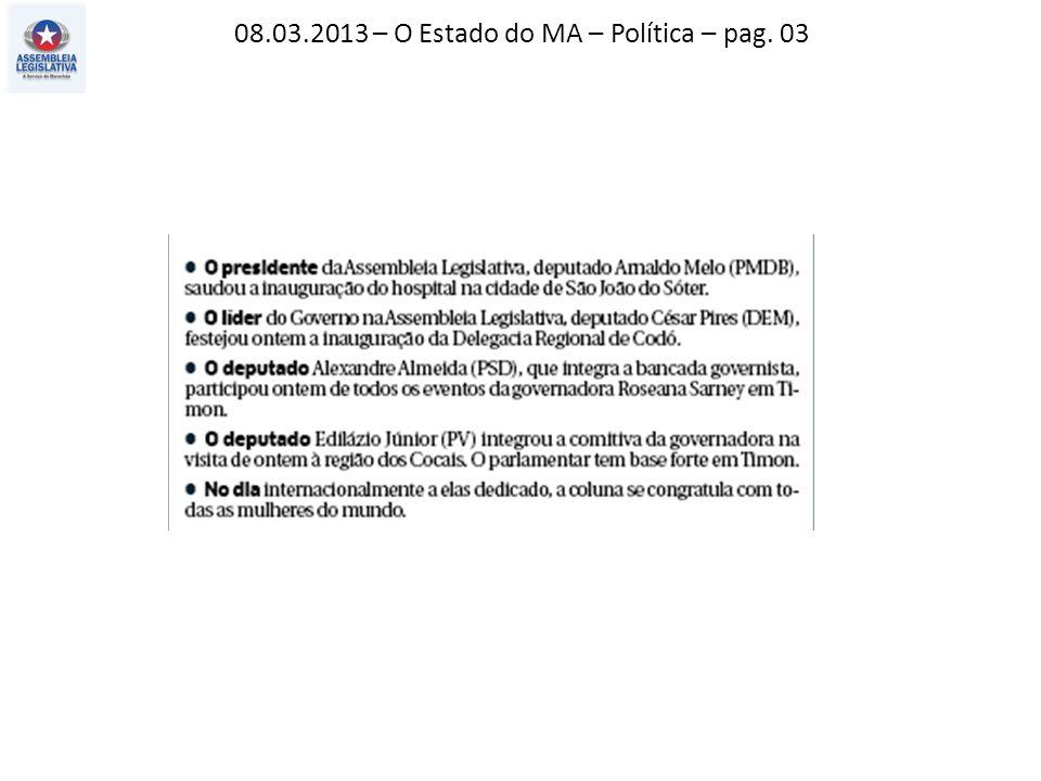 06.03.2013 – Jornal Pequeno – Cartas ao Dr. Peta – pag. 02