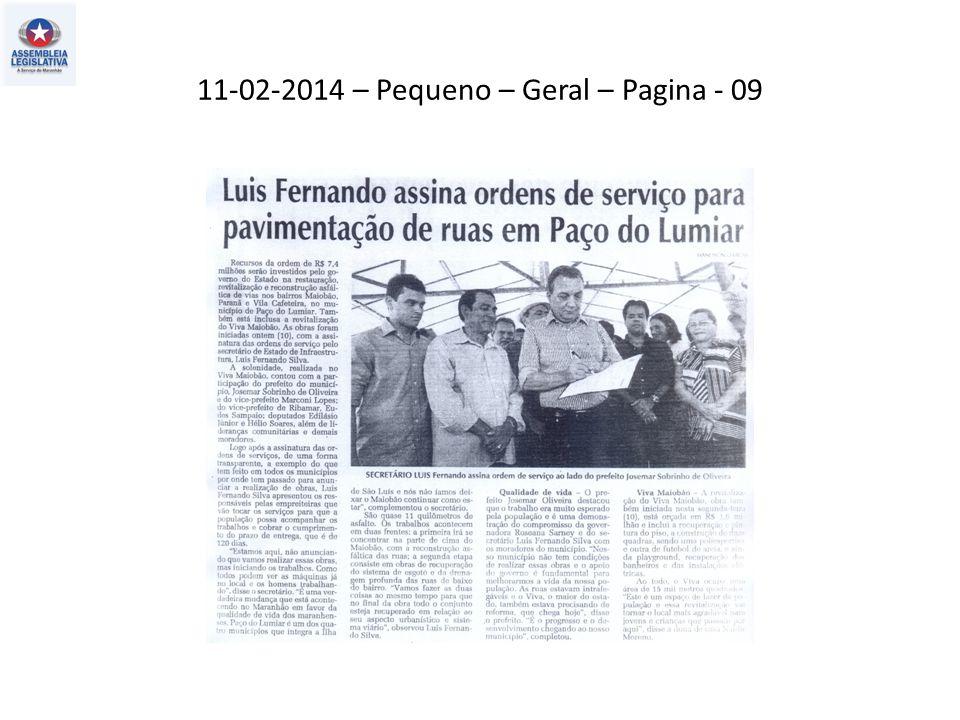 11-02-2014 – Pequeno – Geral – Pagina - 09