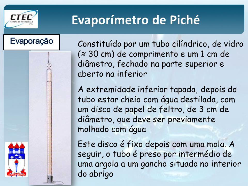 Constituído por um tubo cilíndrico, de vidro ( 30 cm) de comprimento e um 1 cm de diâmetro, fechado na parte superior e aberto na inferior A extremida