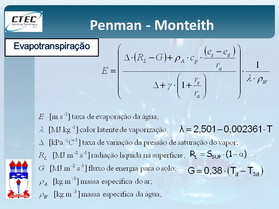 Penman - Monteith
