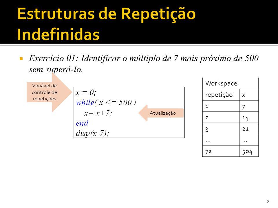 Exercício 02: Identificar se um número fornecido pelo usuário é primo.