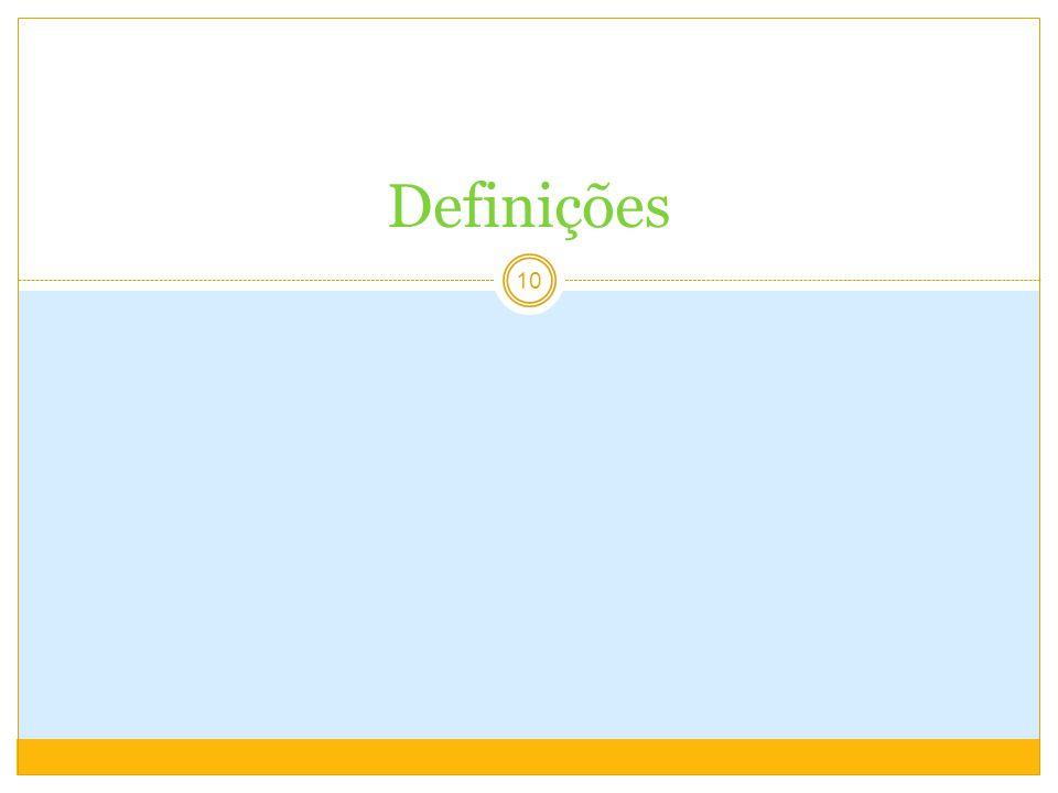 10 Definições
