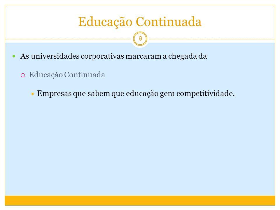 Educação Corporativa e Estratégia corporativa O que torna uma universidade corporativa, corporativa, é a sua ligação com a estratégia de sua empresa.