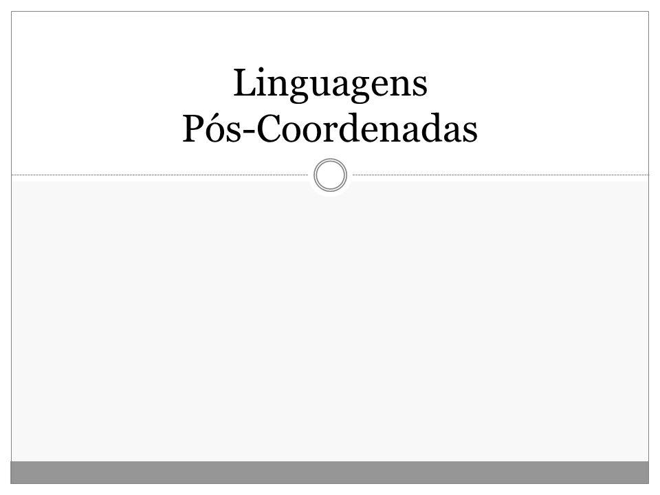 Linguagens Pós-Coordenadas