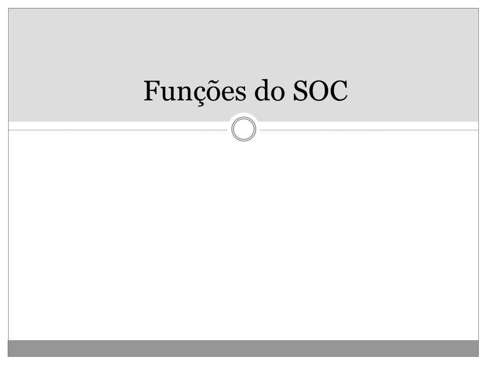 Funções do SOC