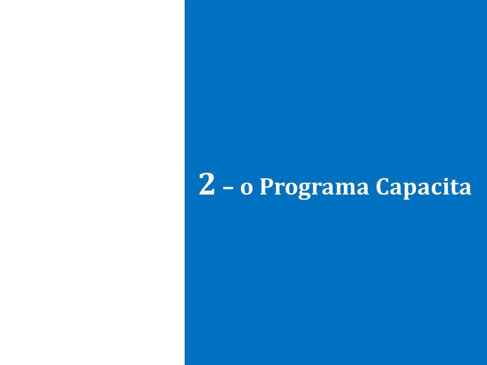 2 – o Programa Capacita