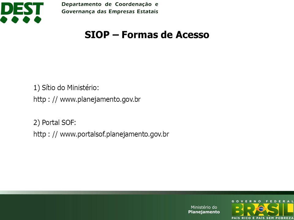 SIOP – Portal SOF