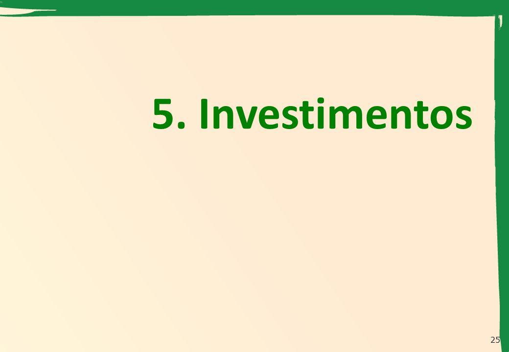 5. Investimentos 25