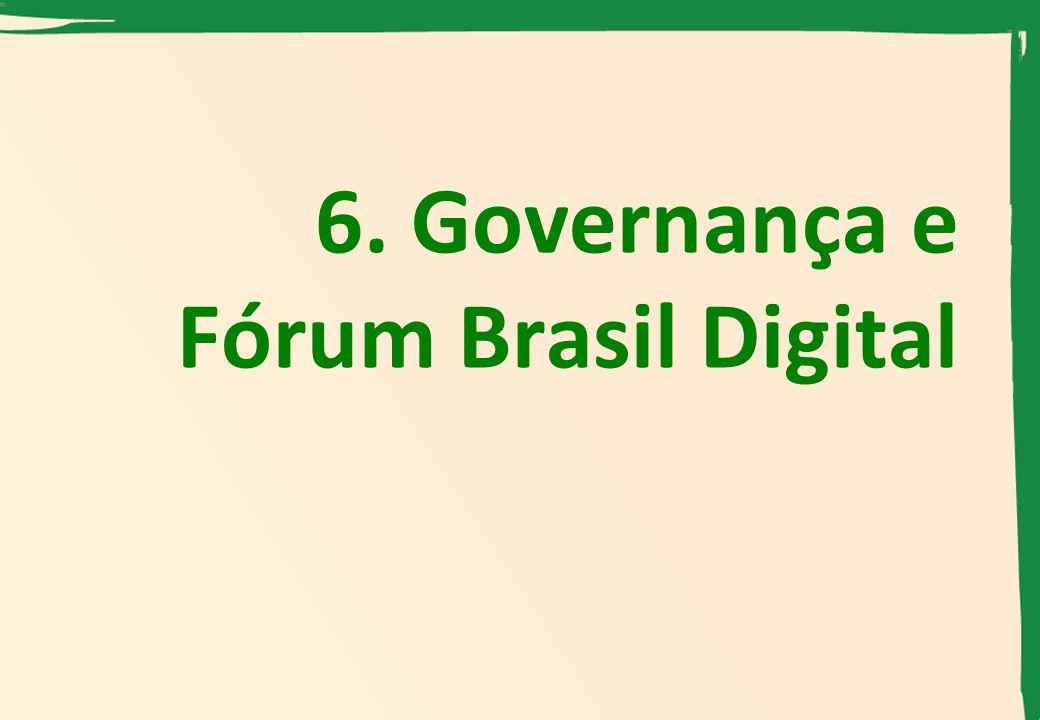 6. Governança e Fórum Brasil Digital
