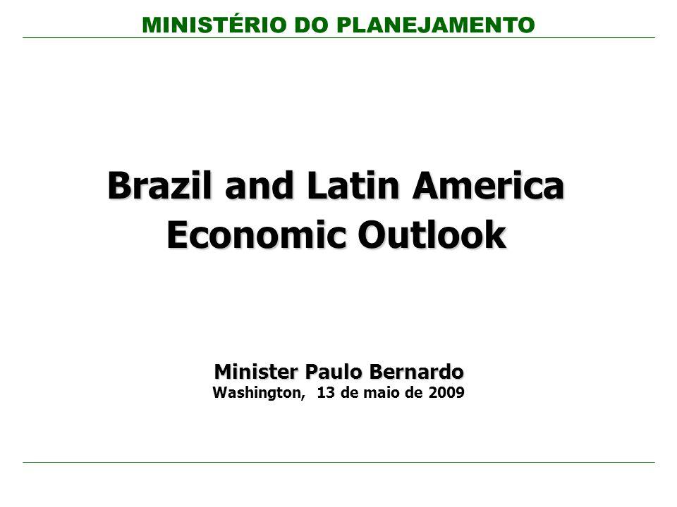 MINISTÉRIO DO PLANEJAMENTO 12 Melhor Performance Fiscal (Deficit como % PIB) Fonte: The Economist.