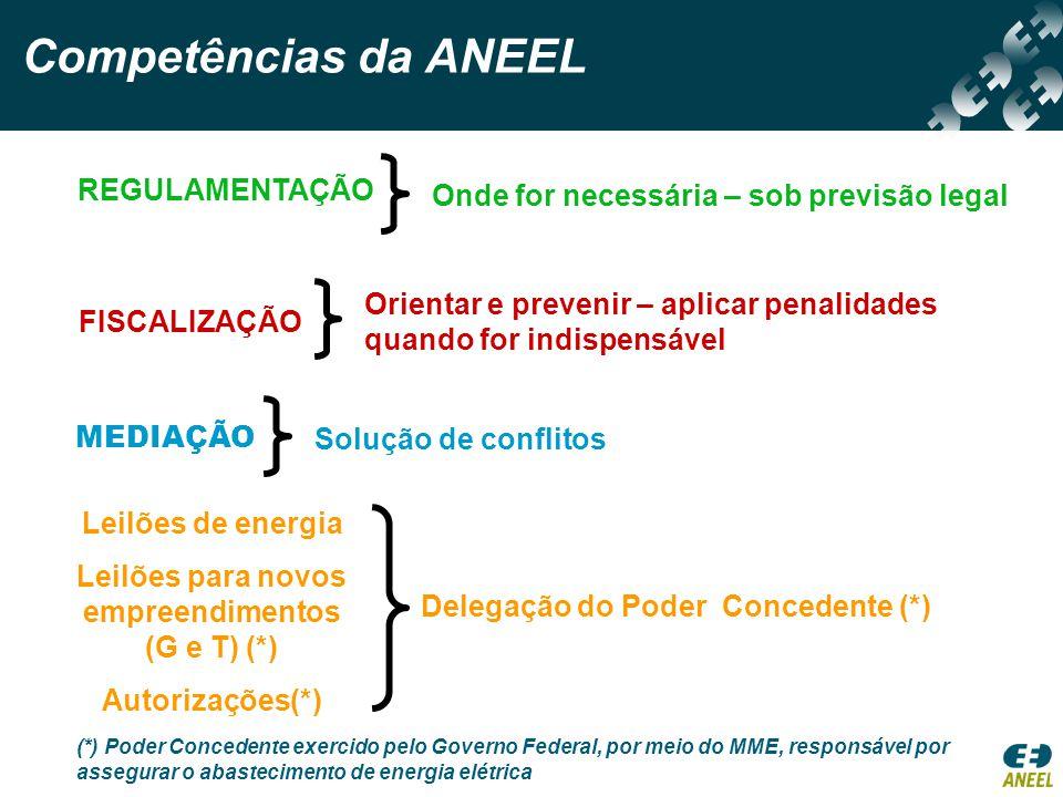 As Agências Estaduais deverão implementar suas atividades em harmonia com a filosofia, as diretrizes e as linhas de ação da ANEEL.