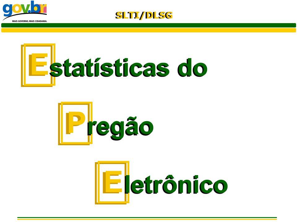 SLTI/DLSG E E statísticas do P P regão E E letrônico