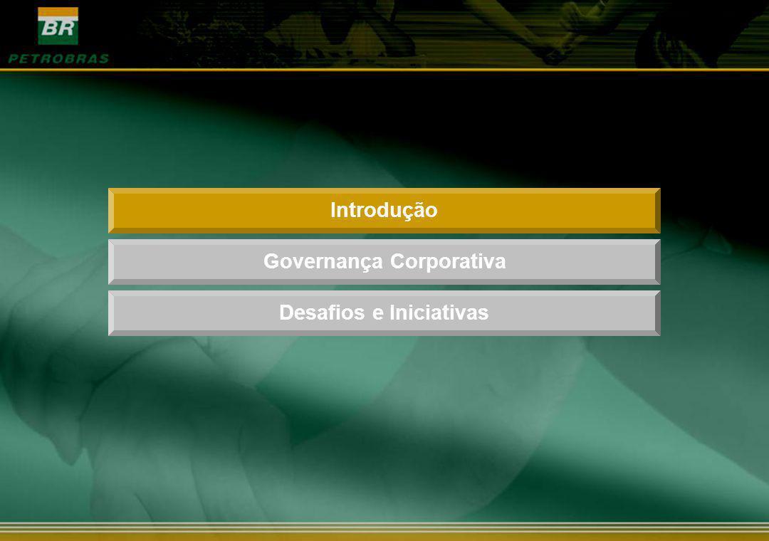 IntroduçãoDesafios e IniciativasGovernança Corporativa