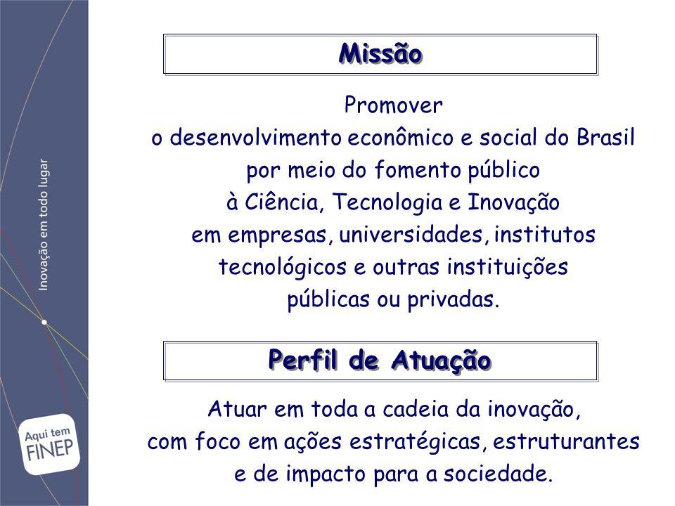 Valor institucionalIdéias-força Visão estratégicaVisão de longo prazo, alinhamento com projeto nacional, sustentabilidade.