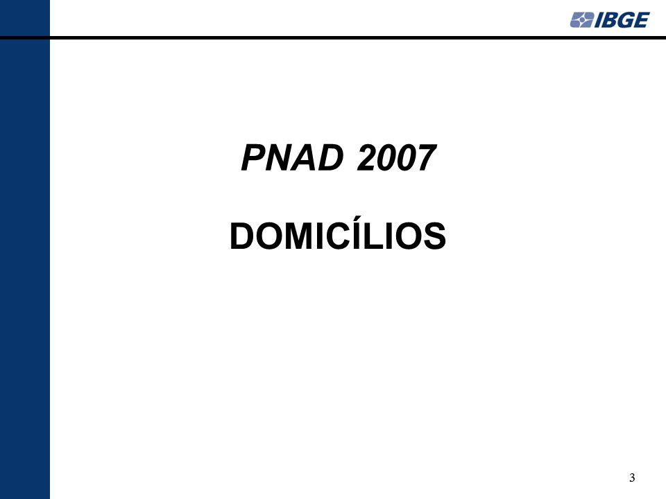 24 EDUCAÇÃO PNAD 2007