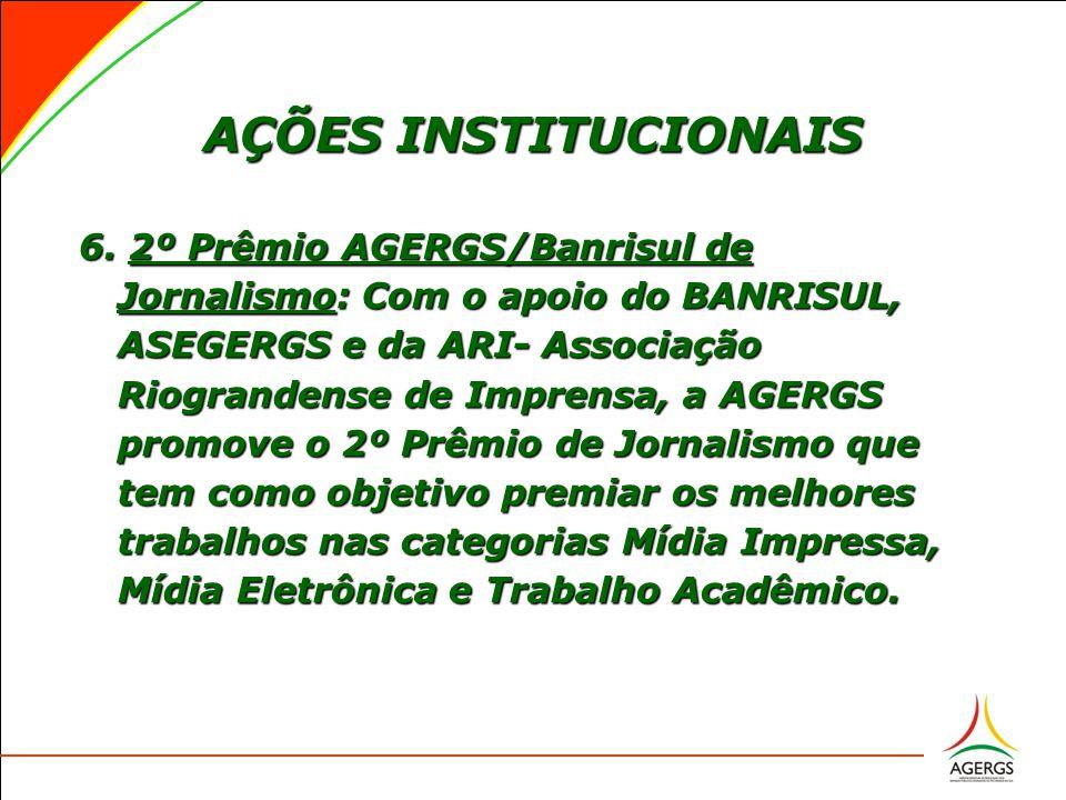 AÇÕES INSTITUCIONAIS 6.
