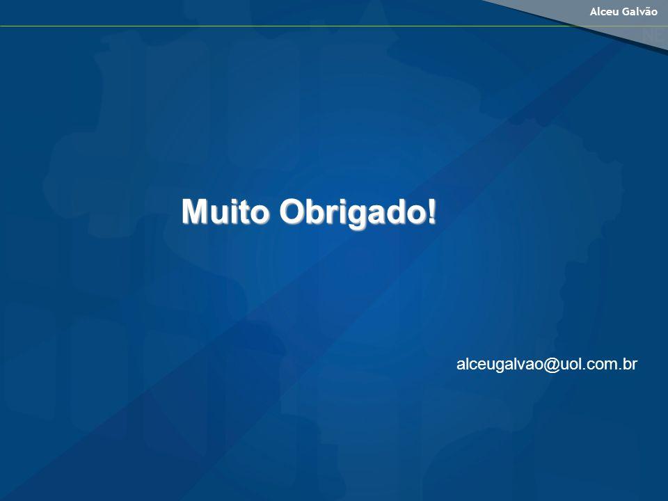 Alceu Galvão Muito Obrigado! alceugalvao@uol.com.br