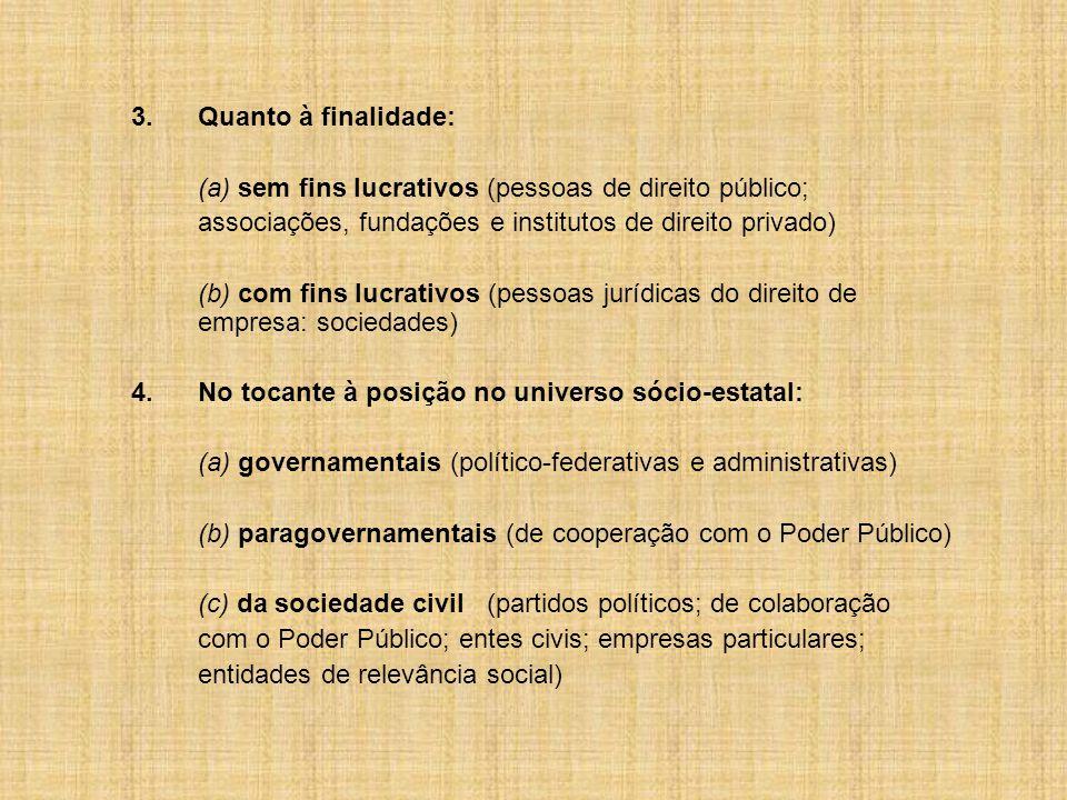 6.Serviços sociais autônomos.CF, art. 240. ADCT, art.