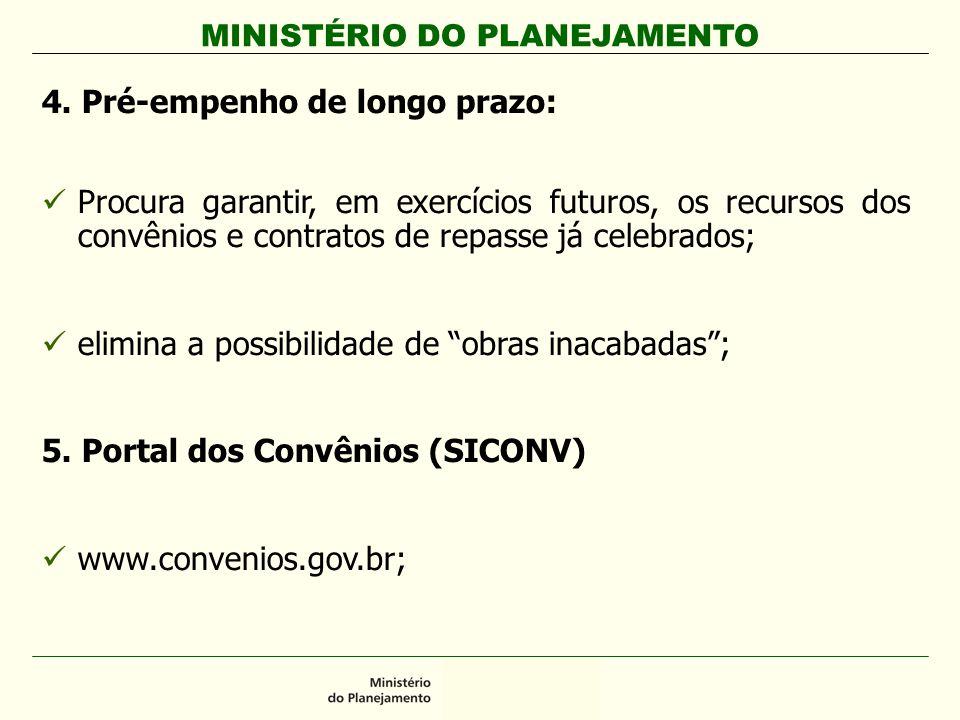 MINISTÉRIO DO PLANEJAMENTO 4.