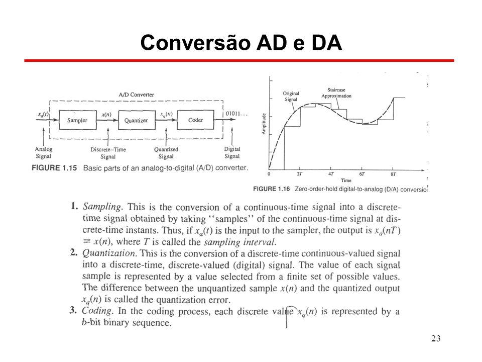 23 Conversão AD e DA