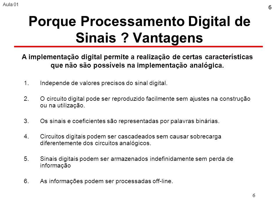 6 Porque Processamento Digital de Sinais .