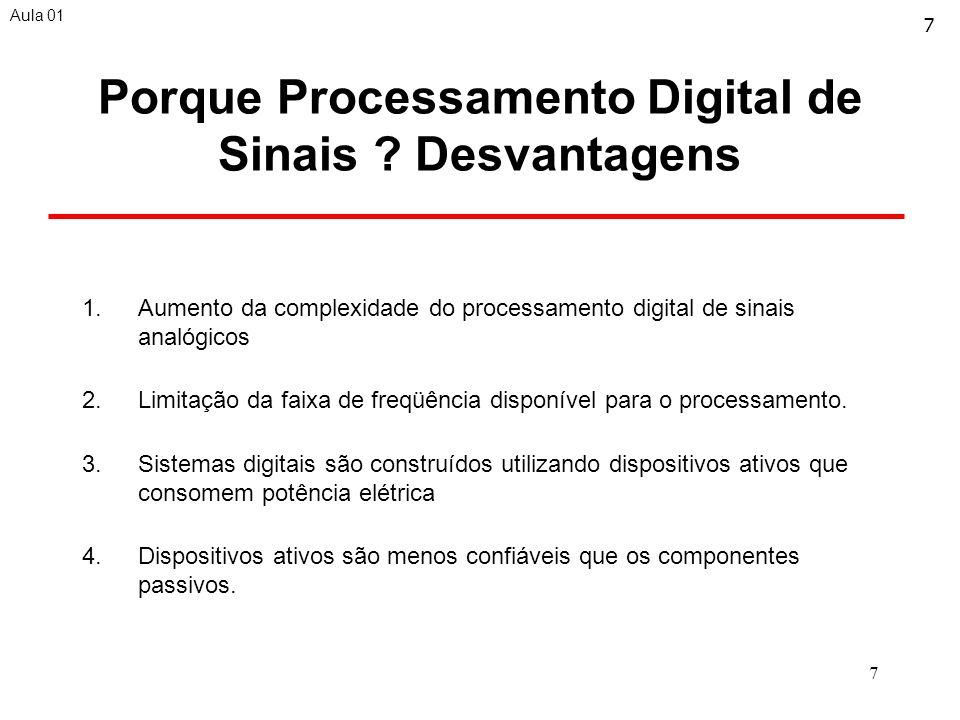 7 Porque Processamento Digital de Sinais .