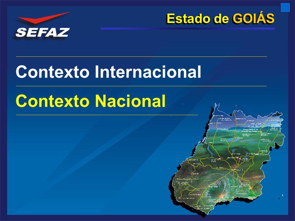 Estado de GOIÁS Contexto Internacional Contexto Nacional