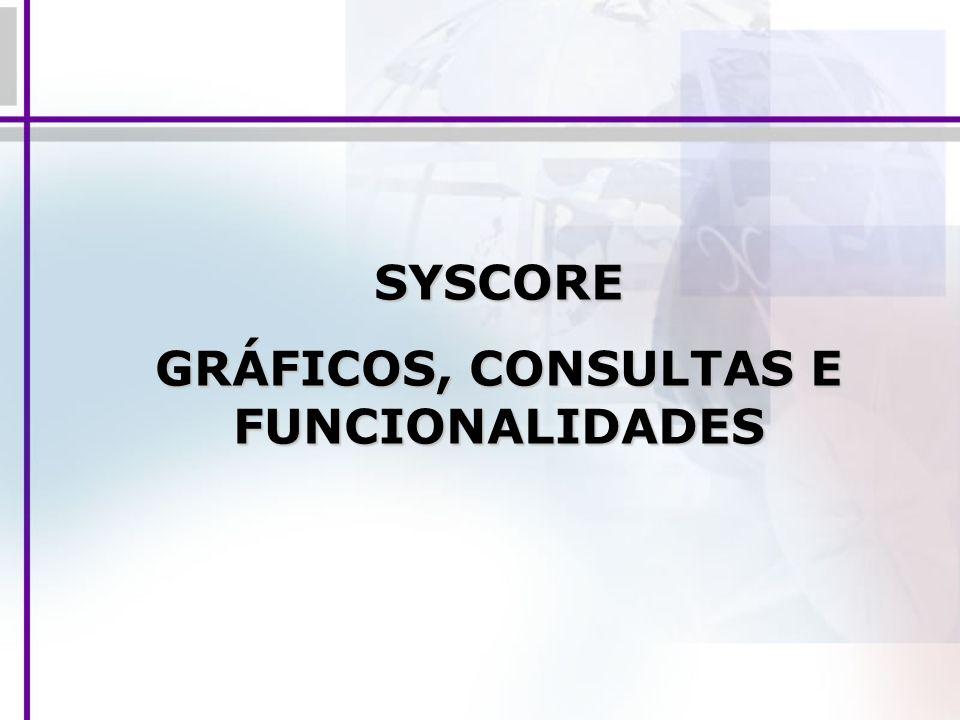 SYSCORE GRÁFICOS, CONSULTAS E FUNCIONALIDADES