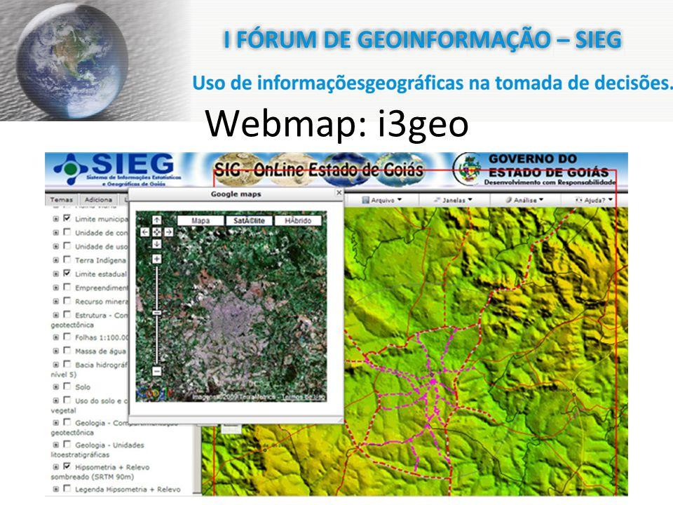 Webmap: i3geo