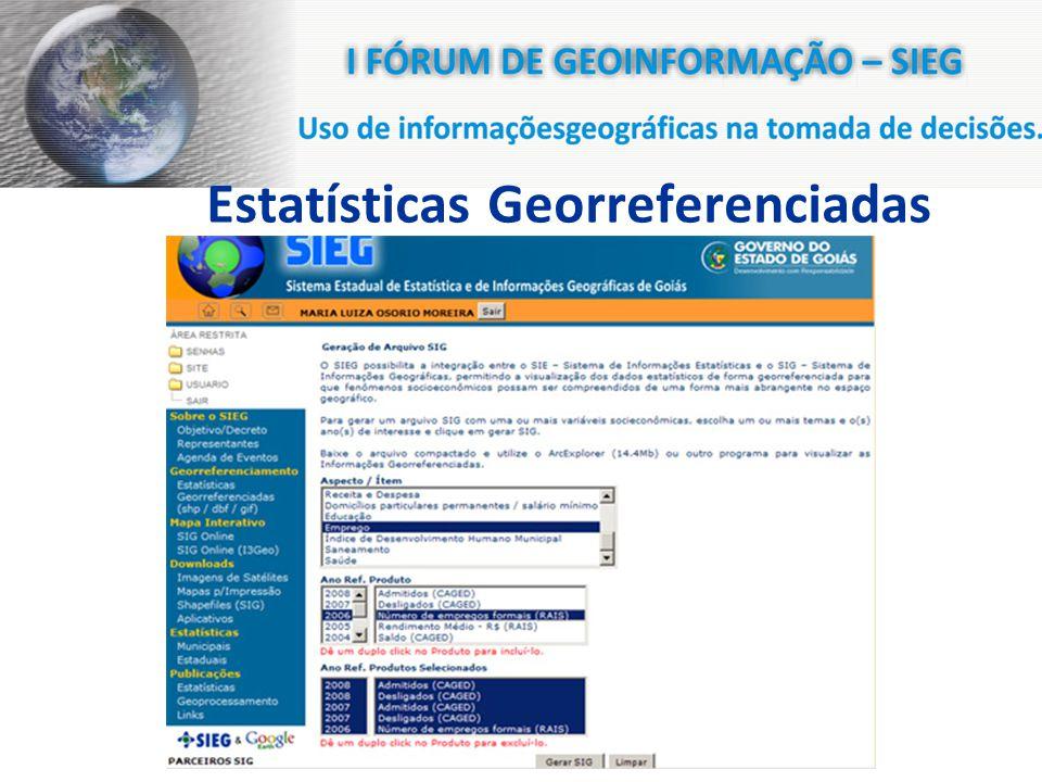 Estatísticas Georreferenciadas