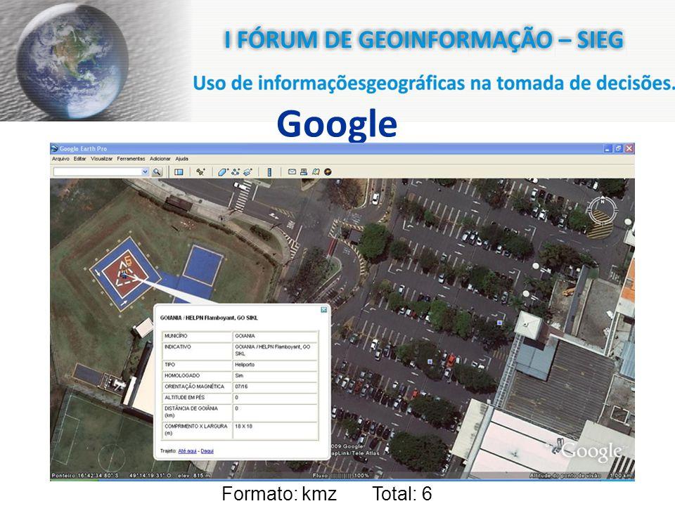 Google Formato: kmz Total: 6
