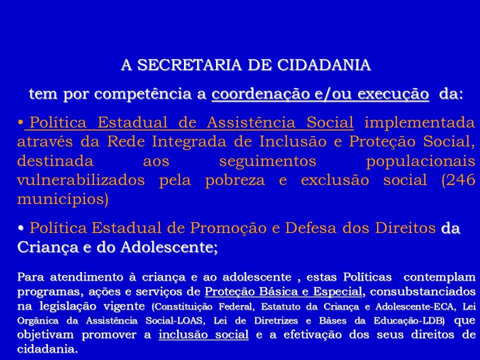 1ª OFICINA TEMÁTICA -SEPLAN Criança e Adolescente Secretaria de Cidadania Linda Monteiro