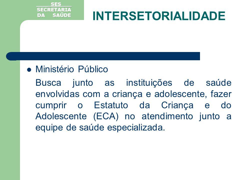Ministério Público Busca junto as instituições de saúde envolvidas com a criança e adolescente, fazer cumprir o Estatuto da Criança e do Adolescente (