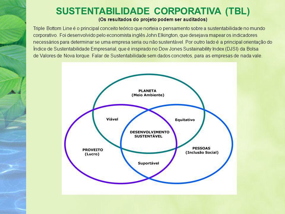 Triple Bottom Line é o principal conceito teórico que norteia o pensamento sobre a sustentabilidade no mundo corporativo. Foi desenvolvido pelo econom
