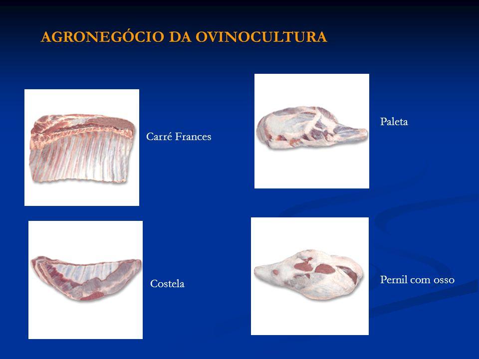 Carré Frances Pernil com osso Costela Paleta AGRONEGÓCIO DA OVINOCULTURA