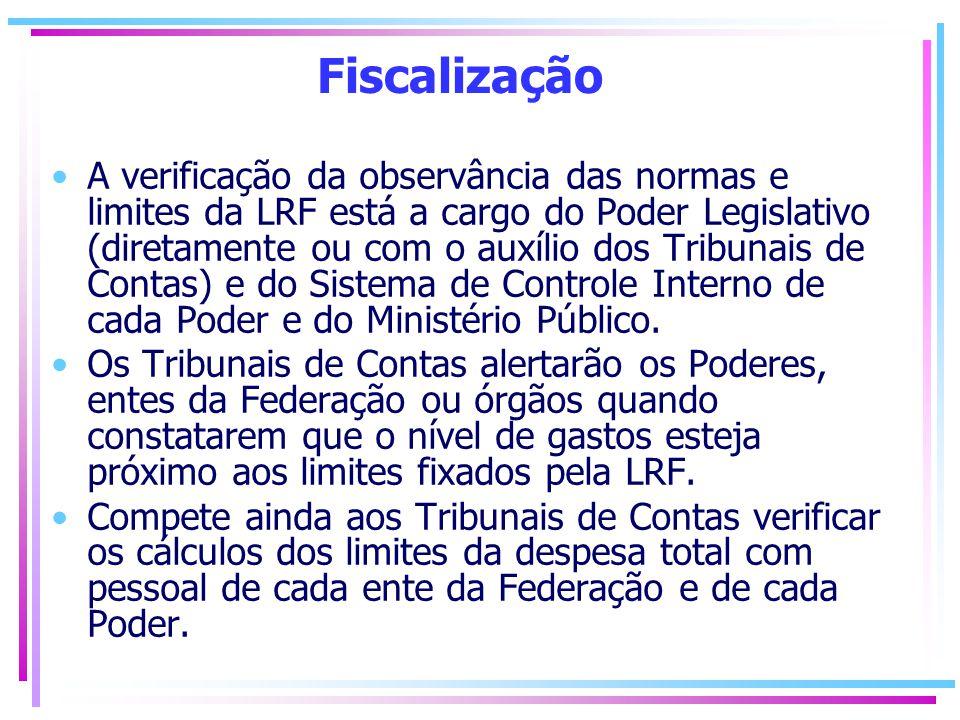 A CONTRIBUIÇÃO DA SOCIEDADE PARA O SUCESSO DA LRF A LRF define como as contas públicas deverão ser consolidadas e divulgadas à população.