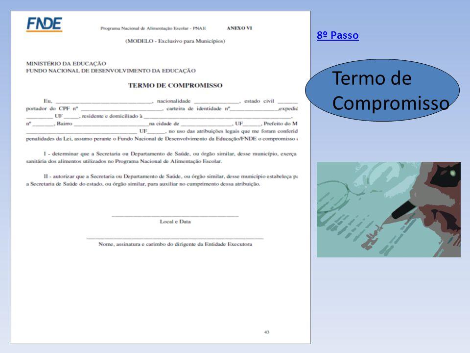 Termo de Compromisso 8º Passo