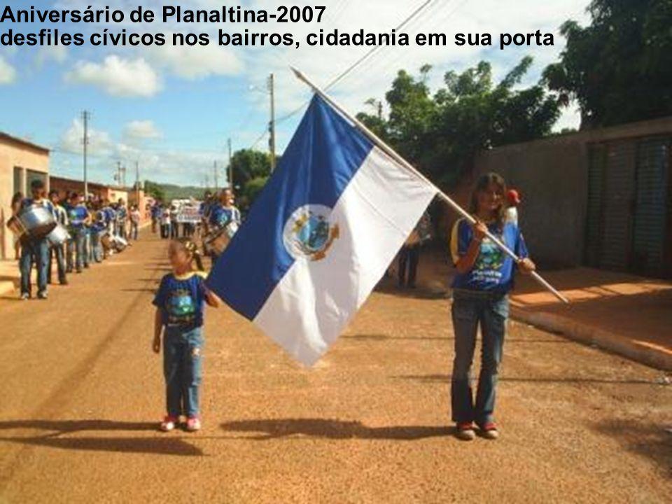Comemoração do 7 de setembro/05 em Cristianópolis São Miguel do Passa Quatro