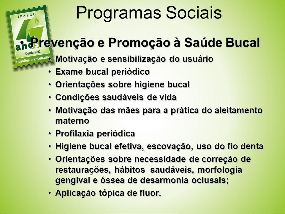Prevenção e Promoção à Saúde BucalPrevenção e Promoção à Saúde Bucal Motivação e sensibilização do usuárioMotivação e sensibilização do usuário Exame