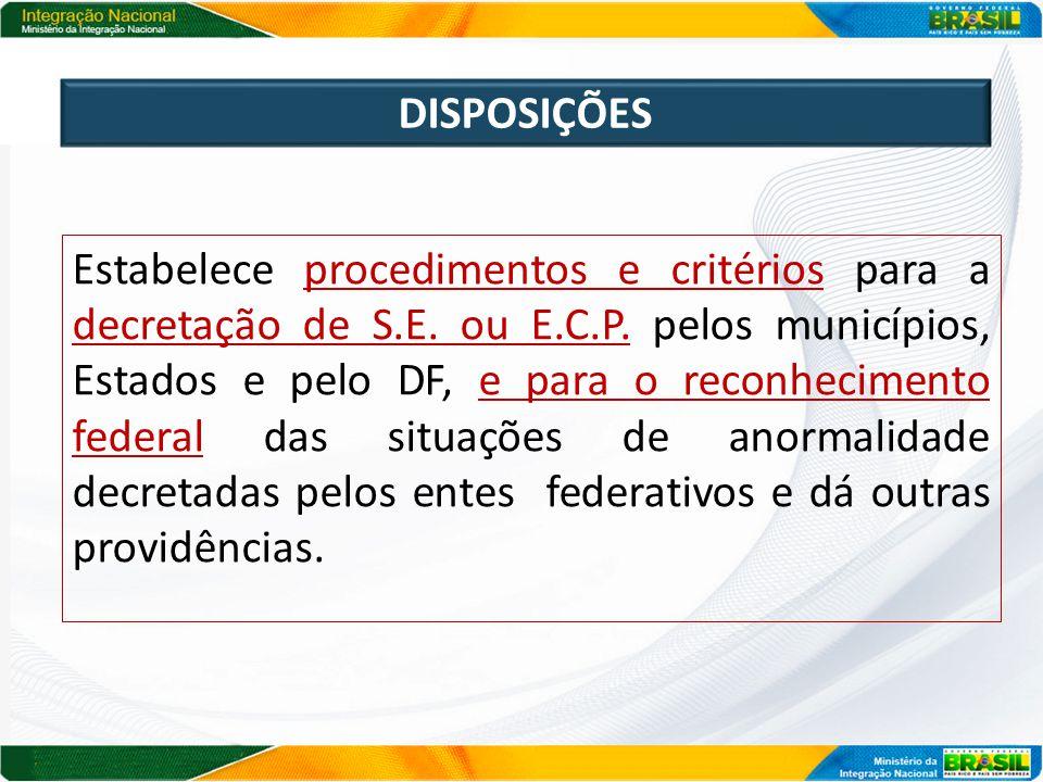 ACESSO http://www.integracao.gov.br/defesa-civil