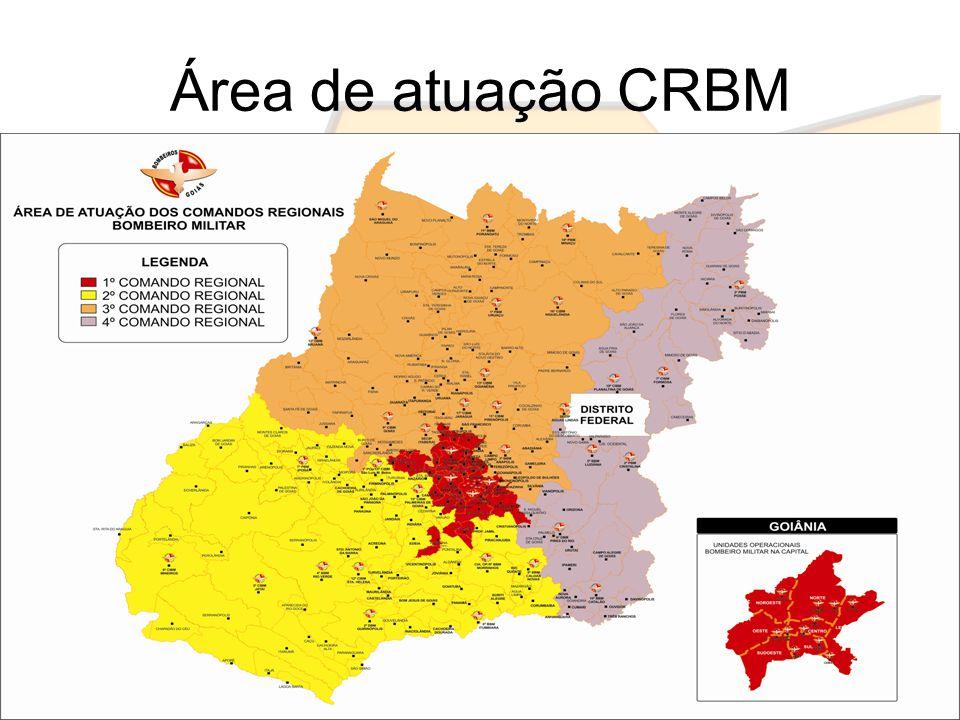 Área de atuação CRBM