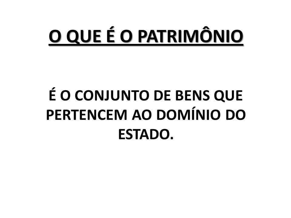 RESPONSABILIDADE DA SUPERVISÃO DE PATRIMÔNIO CONTROLE DE BENS PATRIMONIAIS - CBP LOCALIZAÇÃO; MOVIMENTAÇÃO (TRANSFERÊNCIA); INVENTÁRIOS (CONFERÊNCIA);