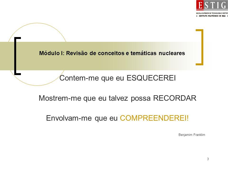 4 Módulo I: Revisão de conceitos e temáticas nucleares Turismo Experiencial…o que significa.