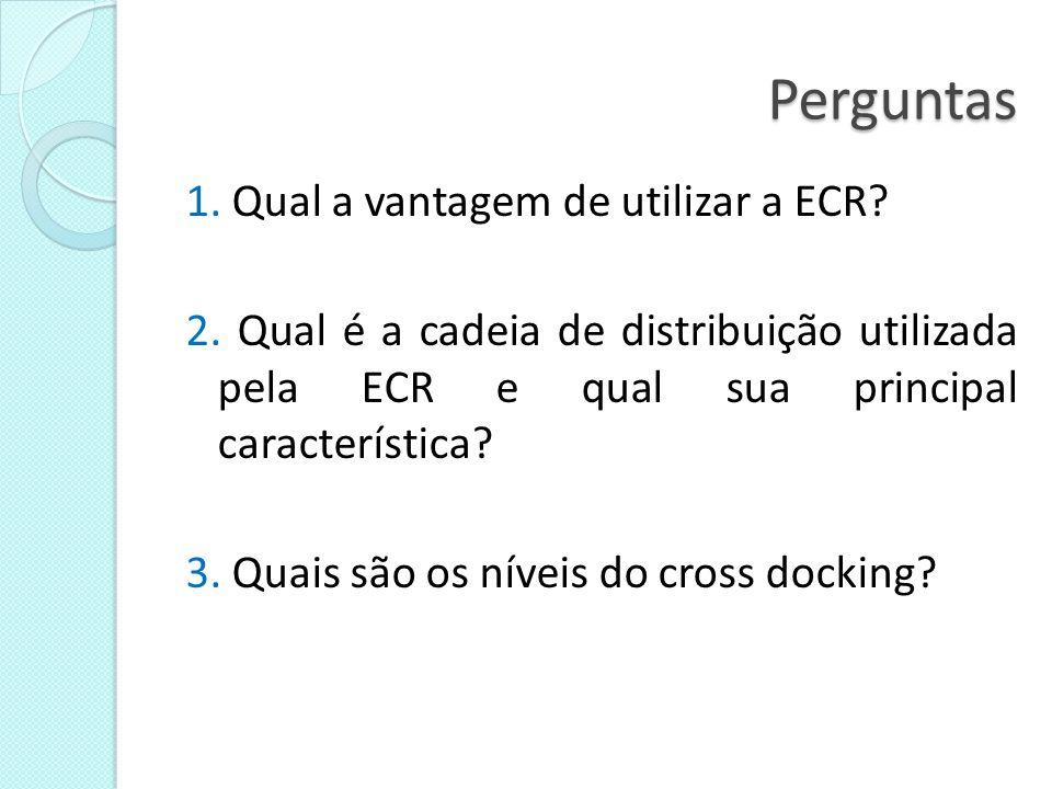 Perguntas 4.Como é dada a reposição eficiente. 5.