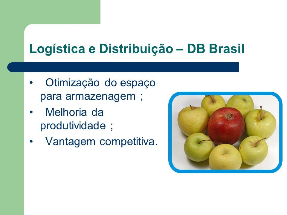 Logística e Distribuição – DB Brasil ERP - Sistema integrado de gestão empresarial: Gestão em cadeia; capacitação de pedidos; roteirizarão de entregas; estoque real.