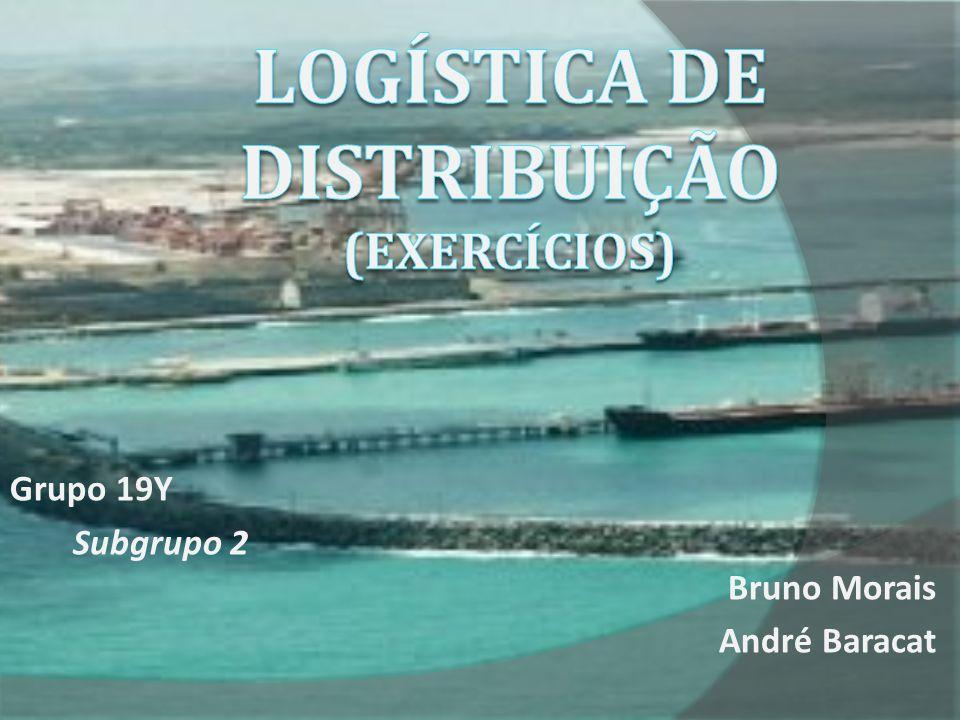 Questões: 1 – Quais são as relações tratadas na logística de distribuição.
