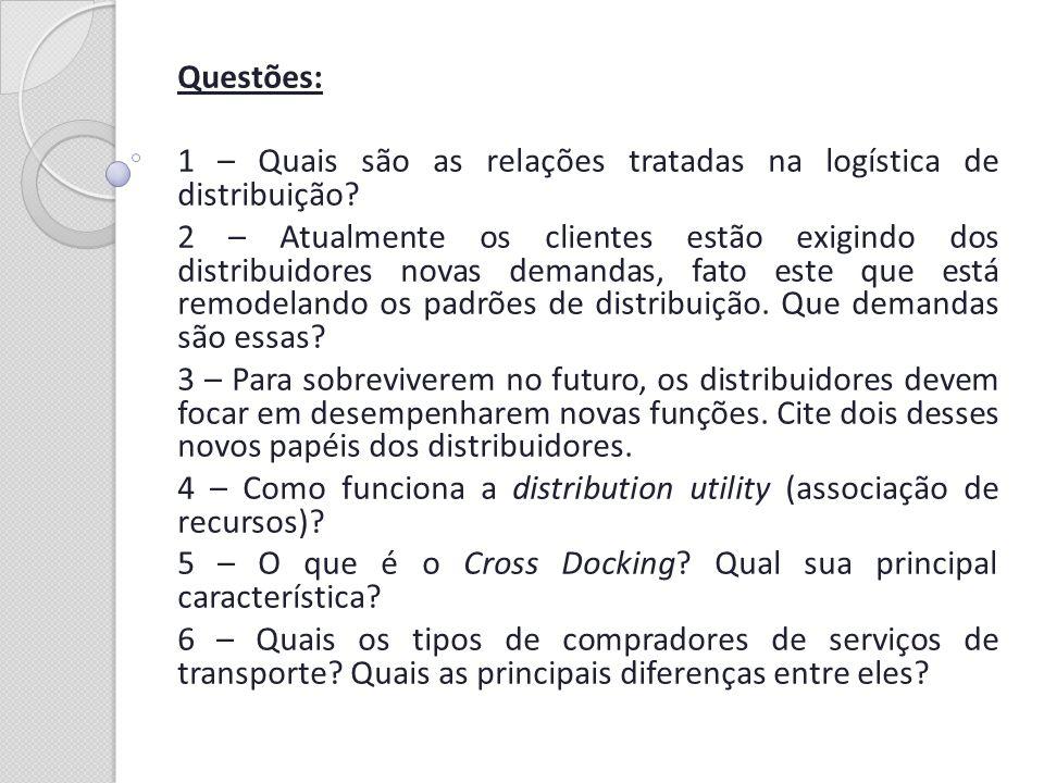 Respostas: 1 - Relações empresa – cliente – consumidor.