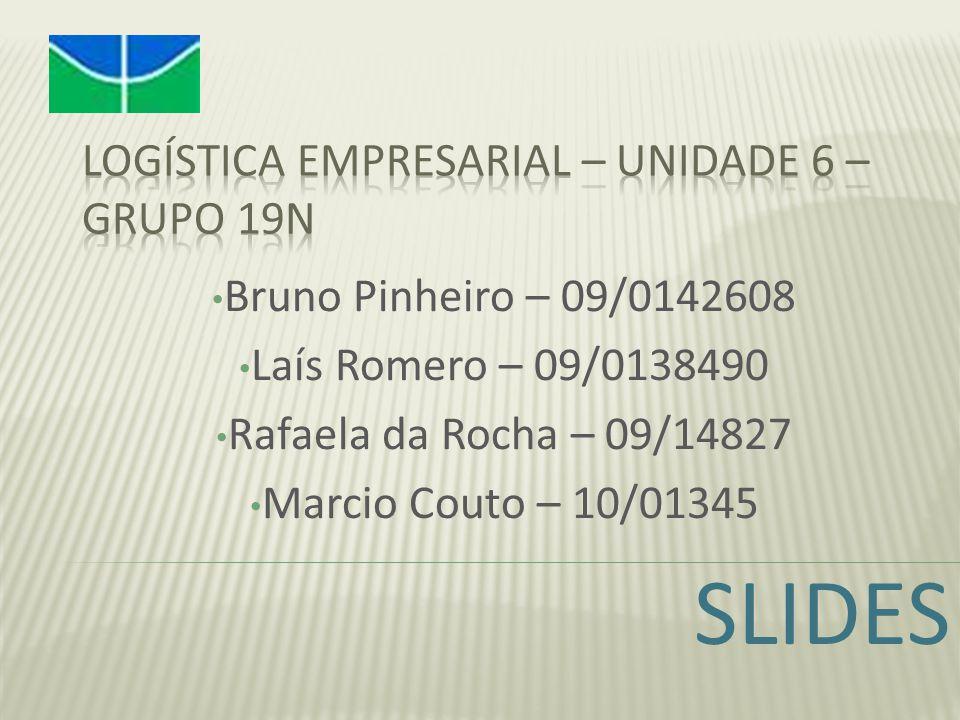 Bruno Pinheiro – 09/0142608 Laís Romero – 09/0138490 Rafaela da Rocha – 09/14827 Marcio Couto – 10/01345 SLIDES