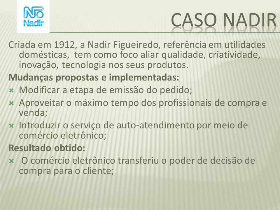 Criada em 1912, a Nadir Figueiredo, referência em utilidades domésticas, tem como foco aliar qualidade, criatividade, inovação, tecnologia nos seus pr